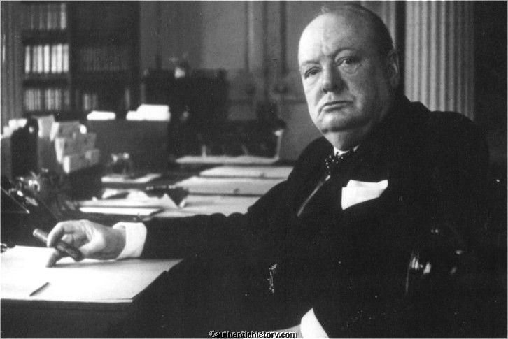 Churchill tal 1