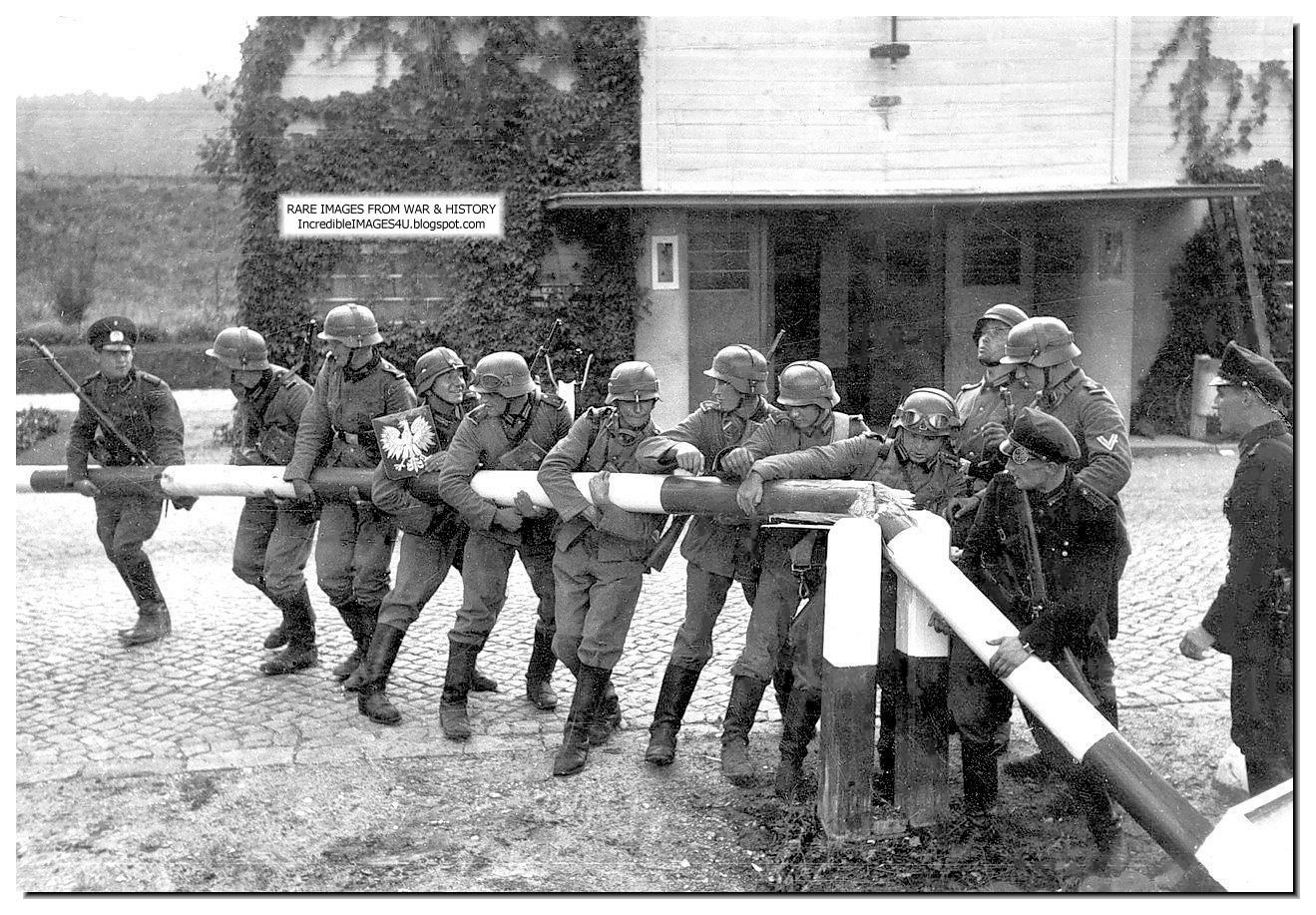 german-invasion-poland-september-1939-german-soldiers-break-border-post